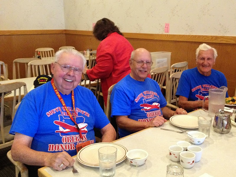 Photo: L to R: Jack, Mike and Harry for SWV Honor Flight