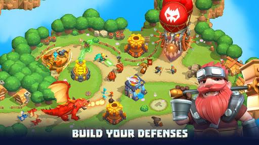 Wild Sky TD: Tower Defense Legends in Sky Kingdom screenshots 17