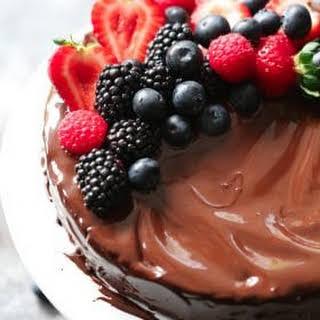 Low-Carb Flourless Chocolate Cake.