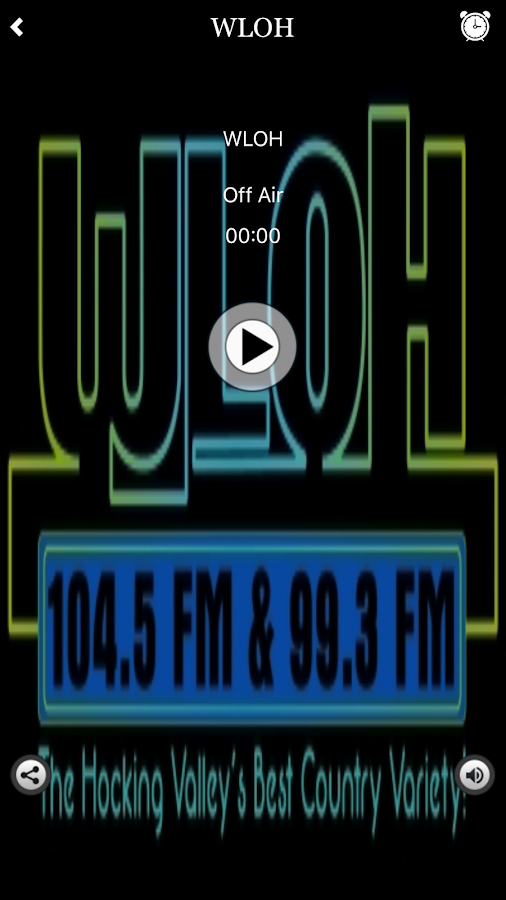 WLOH Radio- screenshot