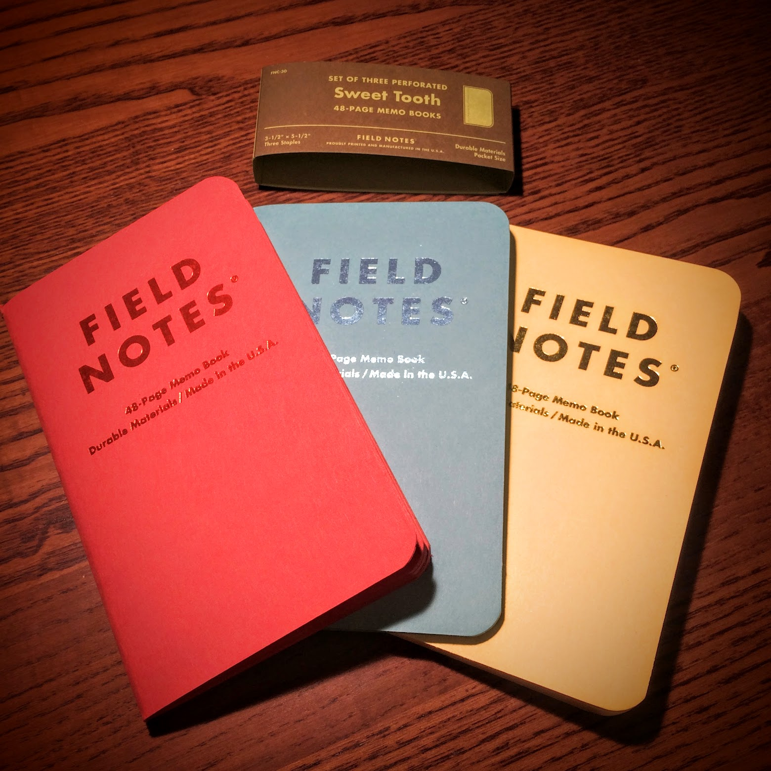 Steven Combs Field Notes Sweet Tooth memo books review – Field Note