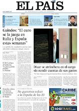 """Photo: Guindos: """"El euro se la juega en Italia y España estas semanas"""", Dívar se atrinchera en el cargo sin rendir cuentas de sus gastos, el BCE achaca al Gobierno """"la peor gestión posible"""" en Bankia y Bruselas critica con dureza las iniciativas económicas de Rajoy, en nuestra portada del viernes, 1 de junio de 2012 http://ep00.epimg.net/descargables/2012/06/01/f05cf2f064d5c54e370427b0bfb31315.pdf"""