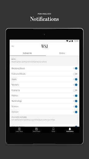 The Wall Street Journal: Business & Market News  screenshots 9