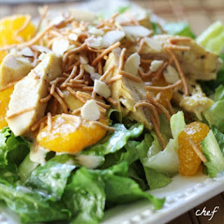 Oriental Chicken Salad and Dressing