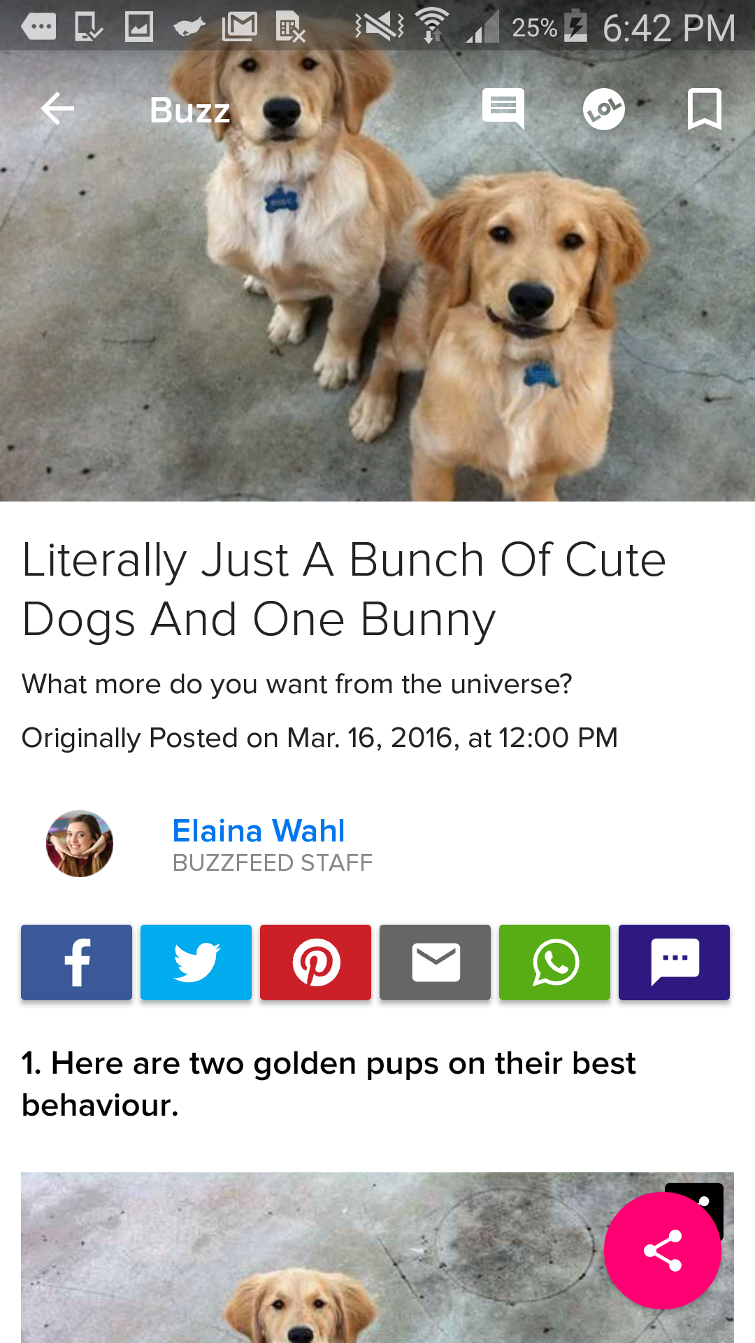 BuzzFeed screenshot #4