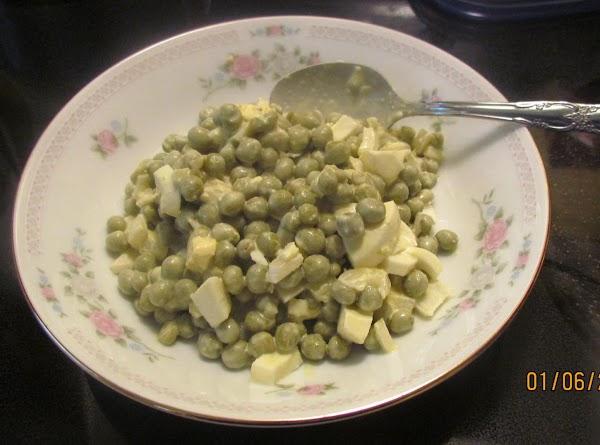 Jeanne Raby's Pea Salad 1/12/Recipe 14