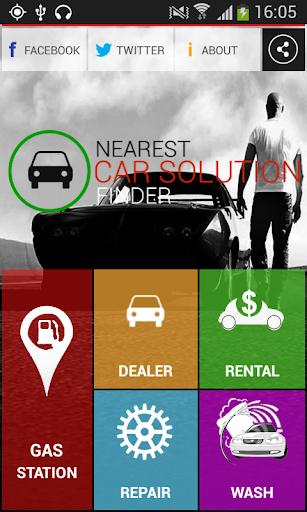 Car solution finder