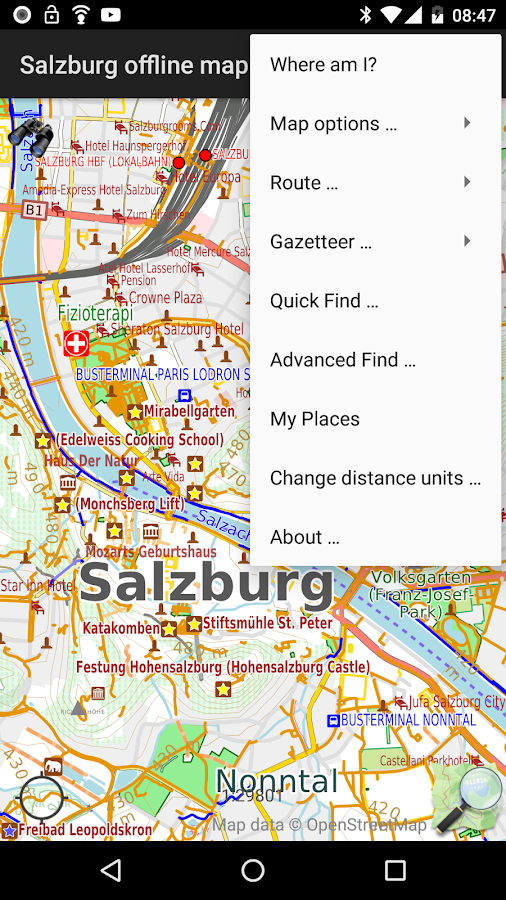 Salzburg offline map Android Apps on Google Play