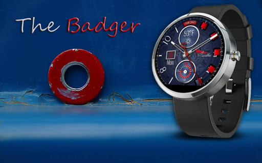 The Badger HD Watch Face