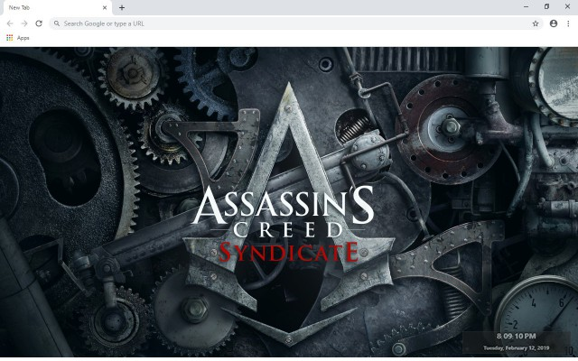 Assassin's Creed: Syndicate New Tab