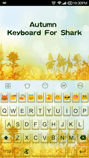 Autumn-Emoji Keyboard