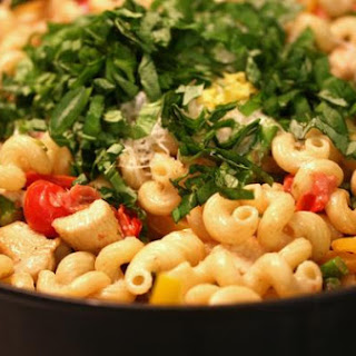 Chicken Pasta Primavera - Flower Patch Farmgirl Style