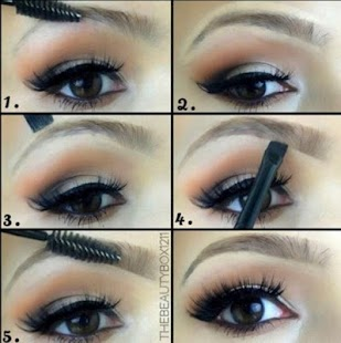 How To Make Up Eyebrow- screenshot thumbnail
