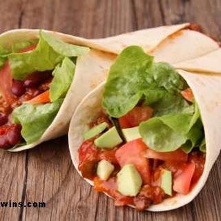5 Minute Bean Burrito Recipe