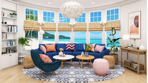 Home Design: Caribbean Life APK MOD – Pièces de Monnaie Illimitées (Astuce) screenshots hack proof 2