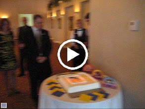 Video: Cutting of the Presidential Cake by Incoming President Dennis Micare on June 5, 2010 - With Dennis is his lovely wife Jackie, District Governor Cynde Covington, President Blaine Timmer, and Nancy Timmer