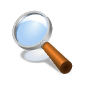 Magnifier + Flashlight icon