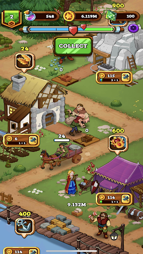 Royal Idle: Medieval Quest 1.11 screenshots 6