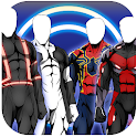 Superhero Camera Costume Photo Editor icon