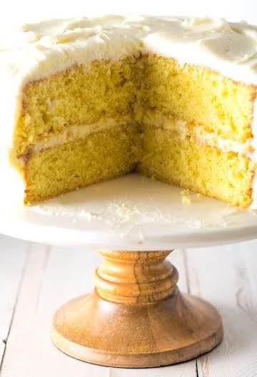 Best Lemon Buttermilk Cake (Video) - A Spicy Perspective