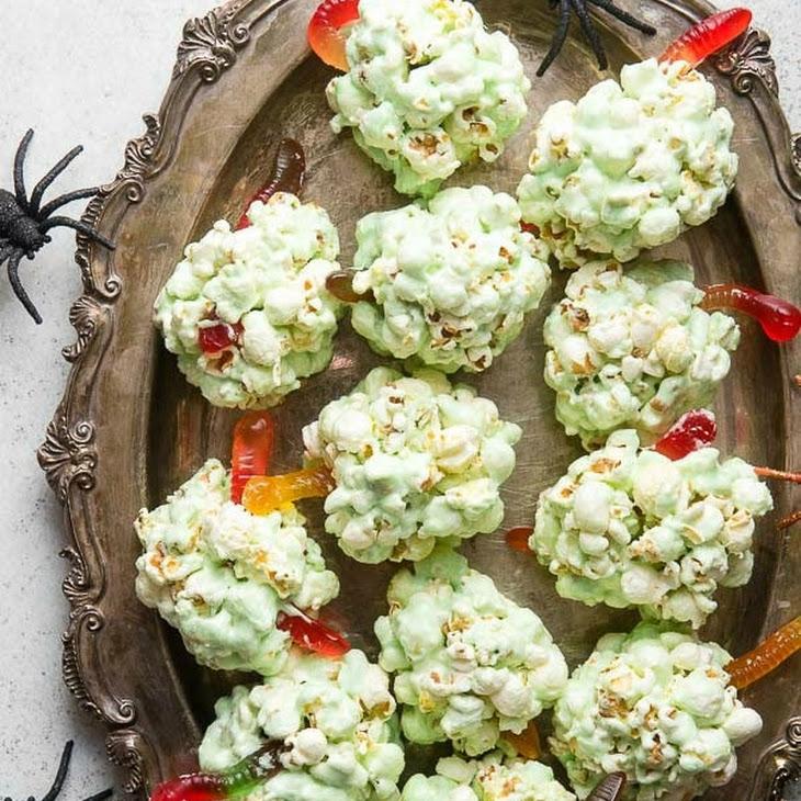Fast Easy Popcorn Balls for Halloween Recipe