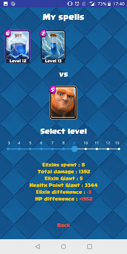 Spell Comparator for Clash Royale 3.0.0 screenshots 5