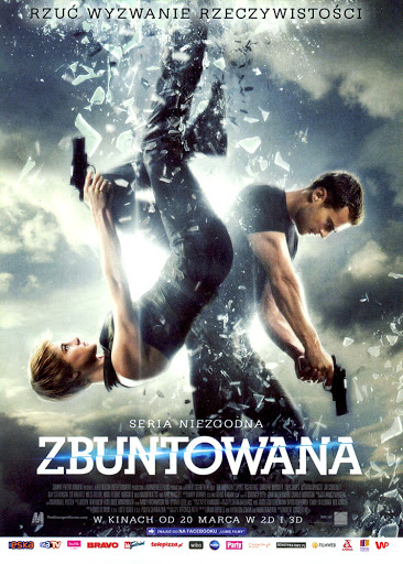 Przód ulotki filmu 'Zbuntowana'