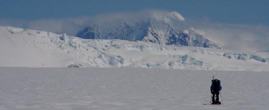 Photo: Still on Seward Glacier but Canadian side. Day 8.