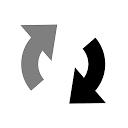 左右反転+回転写真