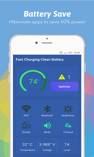 Phoenixling battery fast charger & clean battery