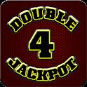 Double 4 Jackpot Slot machine icon