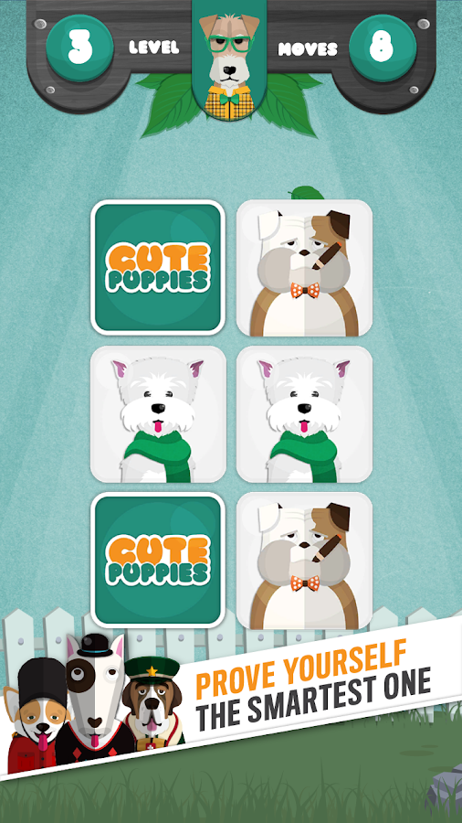 Cute puppy memory game hd free android apps on google play cute puppy memory game hd free screenshot solutioingenieria Choice Image