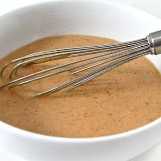 Skinny Kitchen's Thousand Island Dressing (21 calories a tablespoon).