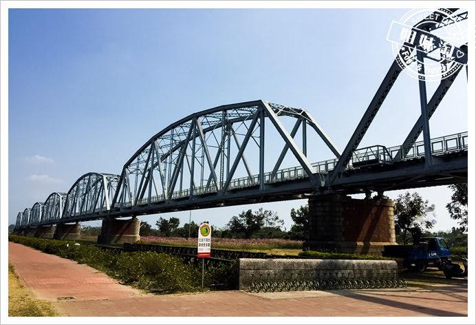 舊鐵橋濕地公園風景