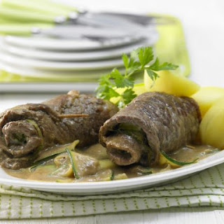 Beef Rollatini with Zucchini