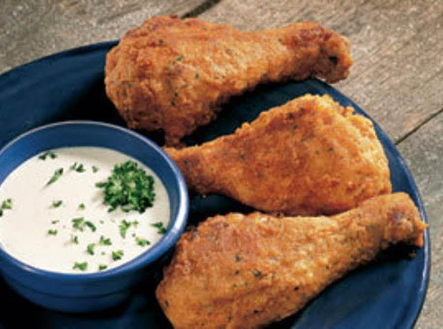 Oven Fried Chicken Drumsticks Recipe Just A Pinch Recipes