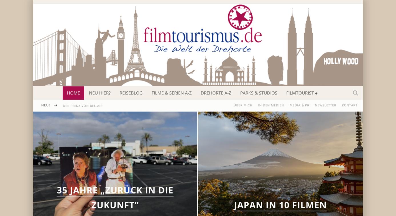 blog design von filmtourismus