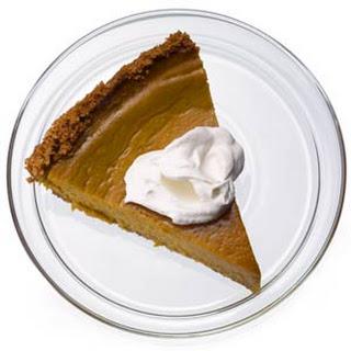 Healthier Pumpkin Pie.