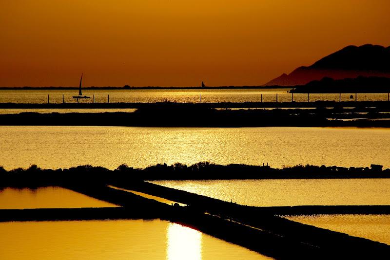 tramonto su favignana di aldopaolo