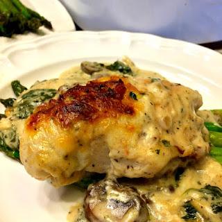 Chicken Florentine Casserole.