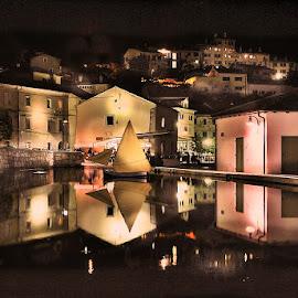 by Zoran Konestabo - City,  Street & Park  Night (  )