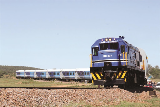 One of the Transnet Engineering trains sold to Botswana.
