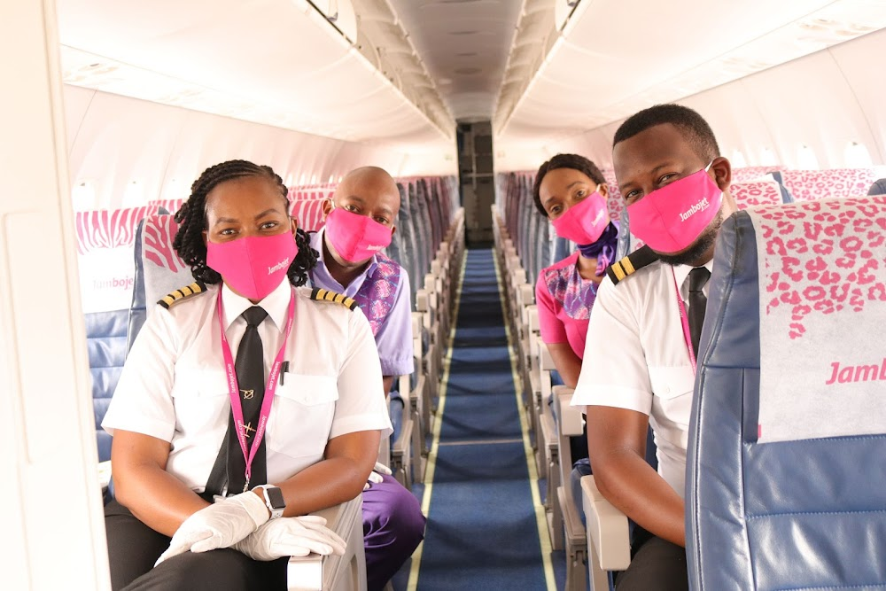 Jambojet introduces new health and safety measures before operations resume