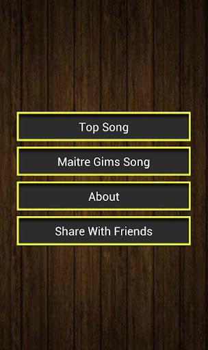 Maitre Gims Song Lyrics