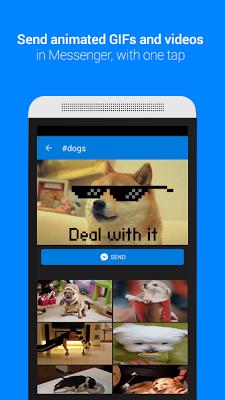 GIF Keyboard by Tenor - screenshot