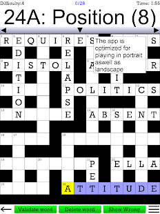 Crossword Unlimited +- screenshot thumbnail