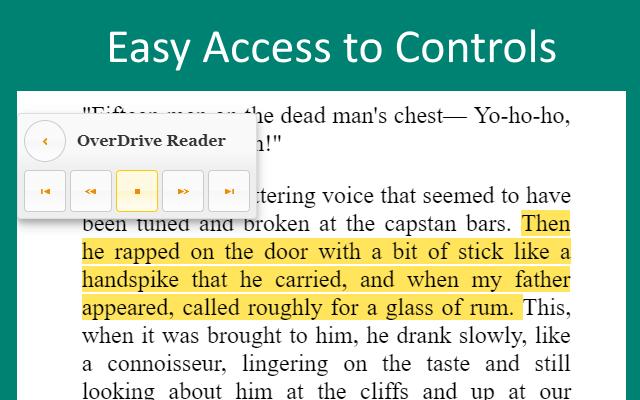 TTS Reader: Speak OverDrive Books Aloud