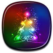 Neon Christmas Live Wallpaper