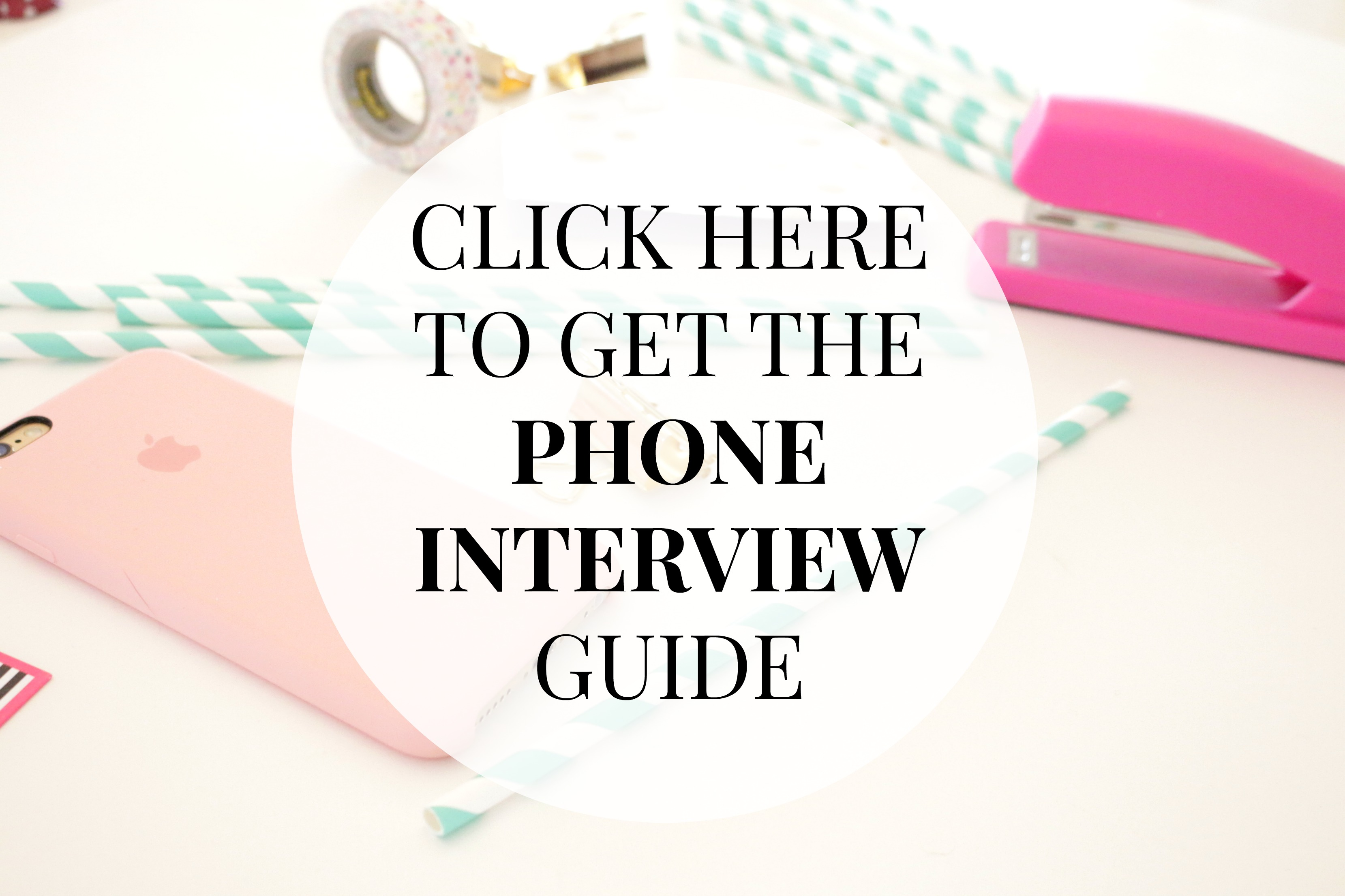 8 ways to nail your next phone interview classy career girl these tips you should perform well in your next telephone interview