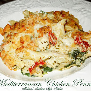 Eezy Peezy Mediterranean Chicken Penne.